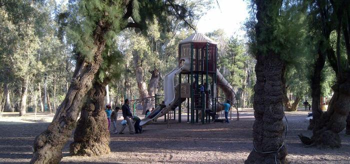 El parque Guadiana en enero del 2014